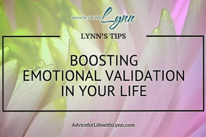 Boosting Emotional Validation in Your Life