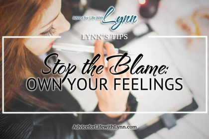 Stop The Blame: Own Your Feelings