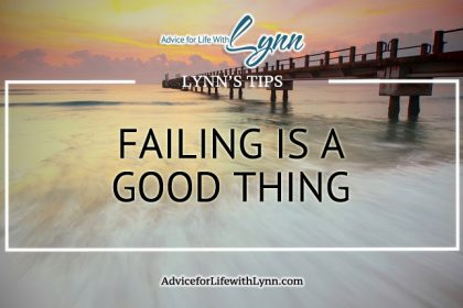 Failing is a Good Thing