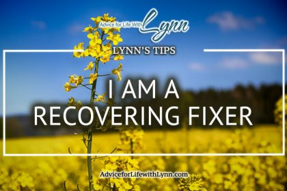 I am a Recovering Fixer