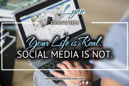Your Life is Real. Social Media is Not.