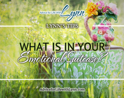 What is in Your Emotional Suitcase?