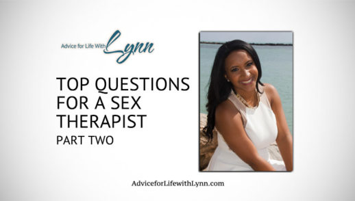 Top Questions for a Sex Therapist: Part Two